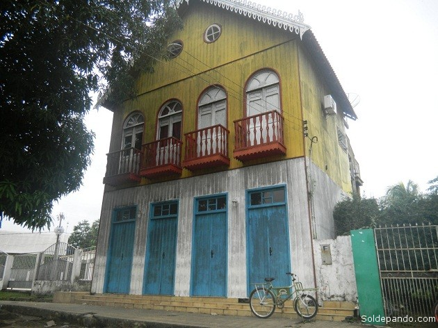 Una reliquia arquitectónica que mantiene viva la memoria de Xapurí como escenario gestor de la Revolución Acreana del 6 de agosto de 1902.   Foto Sol de Pando
