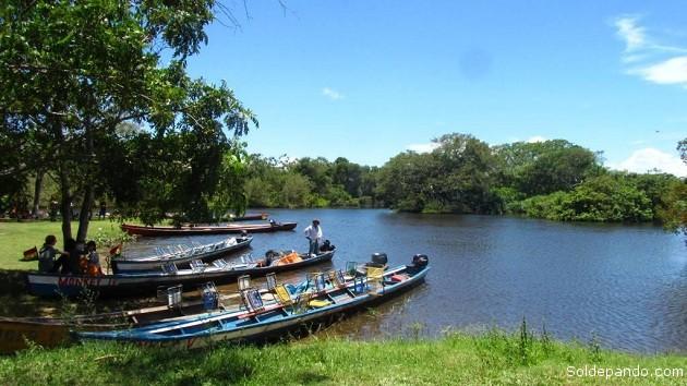 La belleza natural del paisaje que domina en Rurrenabaque pierde su encanto por razones políticas. | Foto Archivo
