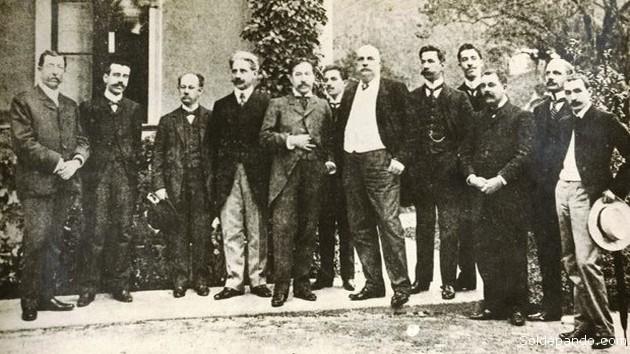 En la mansión del Barón de Rio Branco en Petrópolis, Rio de Janeir, se reunieron los delegados de Bolivia y Brasil para firmar el Tratado del 17 de noviembre de 1903. | Foto Archivo Sol de Pando